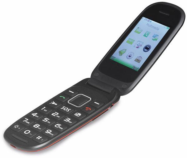 Handy DENVER BAS-24100M, Klapphandy, schwarz - Produktbild 1