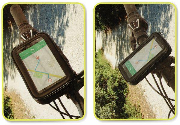 Fahrradlenker Handyhalterung DUNLOP, spritzwassergeschützt - Produktbild 5