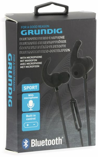 In-Ear Bluetooth Headset GRUNDIG 06587, schwarz - Produktbild 5