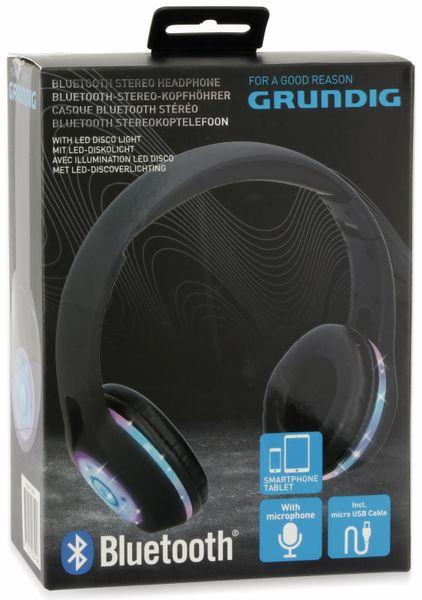 Bluetooth-Headset GRUNDIG 06594, faltbar, LED-Beleuchtung - Produktbild 6