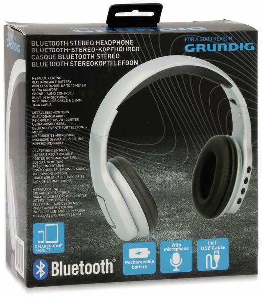 Bluetooth-Headset GRUNDIG 06591, faltbar, silber - Produktbild 5
