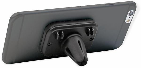 Magnetischer Smartphone Halter für KFZ-Lüftungsschacht LOGILINK AA0114 - Produktbild 3