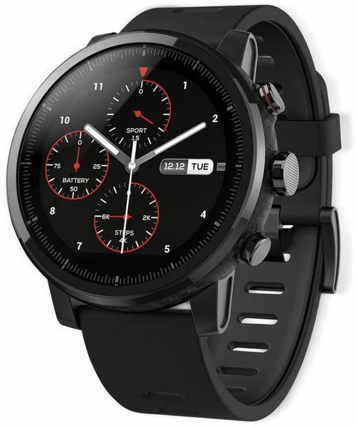 Smartwatch XIAOMI Amazfit Stratos 2, EU-Version, schwarz - Produktbild 1