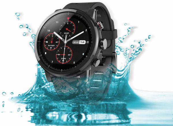 Smartwatch XIAOMI Amazfit Stratos 2, EU-Version, schwarz - Produktbild 2