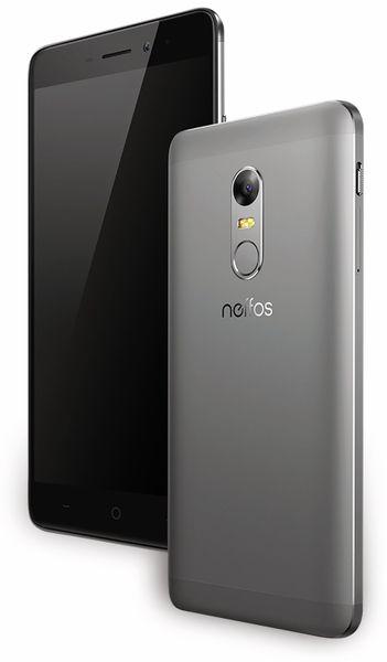 "Smartphone TP-LINK Neffos X1, 12,7 cm (5""), 16 GB, Cloudy Grey, B-Ware - Produktbild 4"