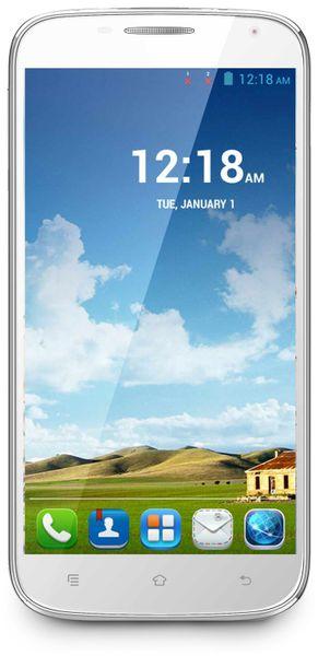 Dual-SIM Smartphone HAIER HaierPhone W867, QuadCore, weiß, B-Ware