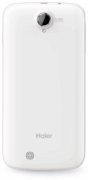 Dual-SIM Smartphone HAIER HaierPhone W867, QuadCore, weiß, B-Ware - Produktbild 2