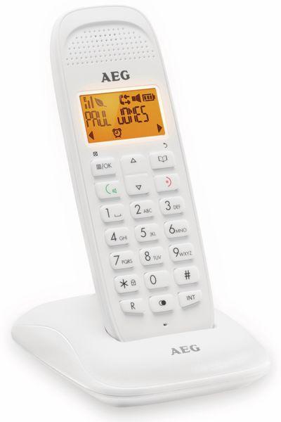 DECT-Telefon AEG D81, weiß