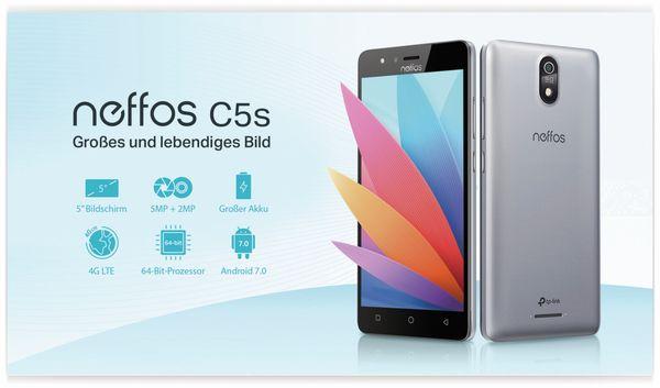 "Smartphone TP-LINK Neffos C5S, 5"", 8 GB, grau, inkl. 3350 mAh Powerbank - Produktbild 9"