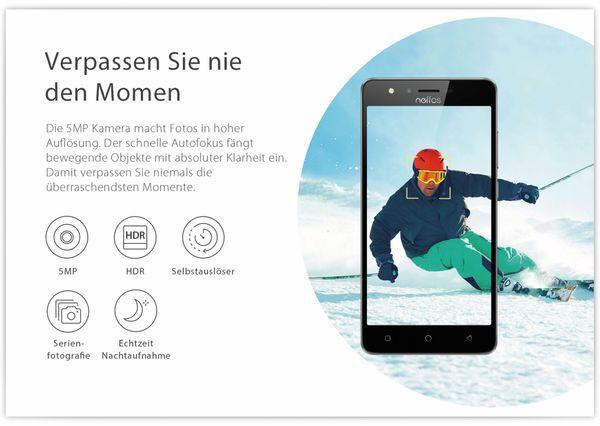 "Smartphone TP-LINK Neffos C5S, 5"", 8 GB, grau, inkl. 3350 mAh Powerbank - Produktbild 12"