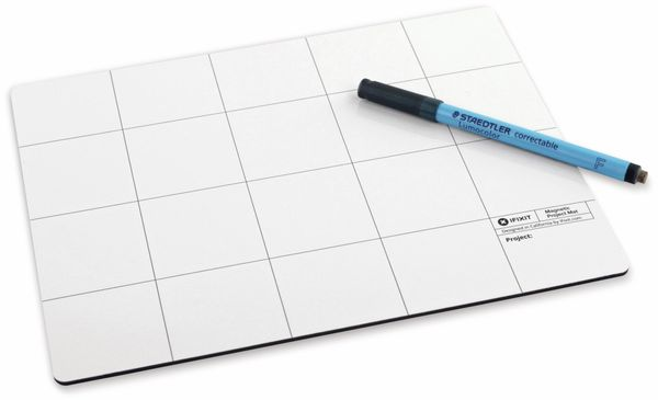 Arbeitsunterlage IFIXIT Magnetic Project Mat Pro, magnetisch