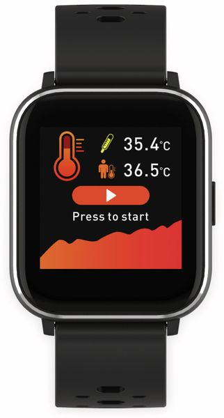 Smartwatch DENVER SW-163, schwarz - Produktbild 4