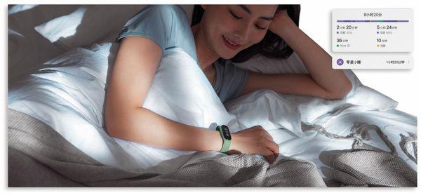 Fitness-Armband XIAOMI MI Band 5, EU/D Version, schwarz - Produktbild 6