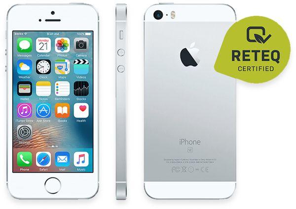 Handy APPLE IPHONE SE, 32GB, silber, refurbished