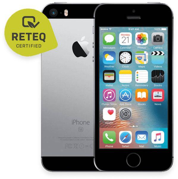 Handy APPLE IPHONE SE, 32GB, grau, refurbished