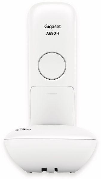 DECT-Telefon GIGASET A690, weiß - Produktbild 3