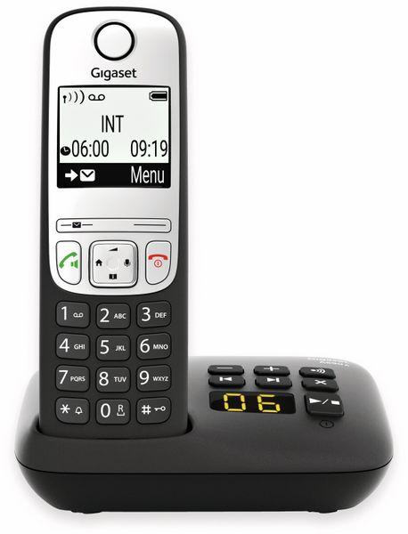 DECT-Telefon GIGASET A690A, schwarz