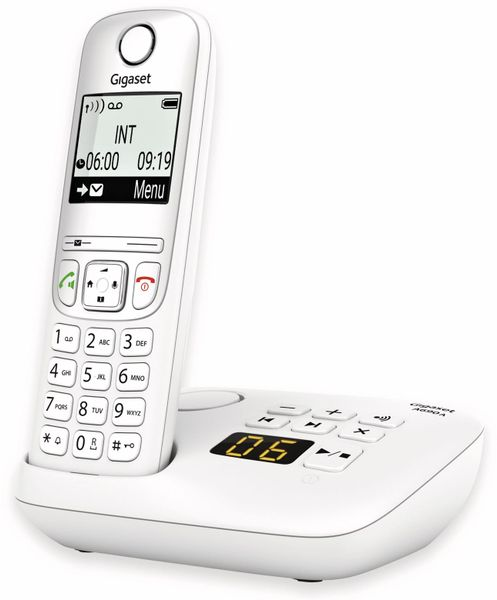DECT-Telefon GIGASET A690A, weiß