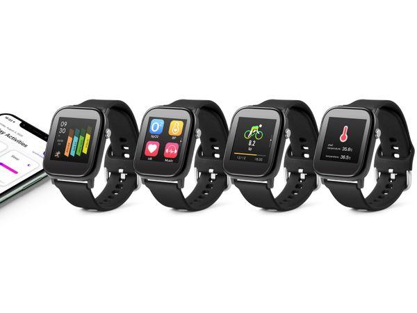 Smartwatch TECHNAXX TX-SW6HR, mit Temperaturmessung - Produktbild 5