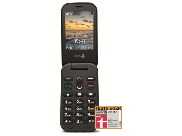 Handy DORO 6040, schwarz
