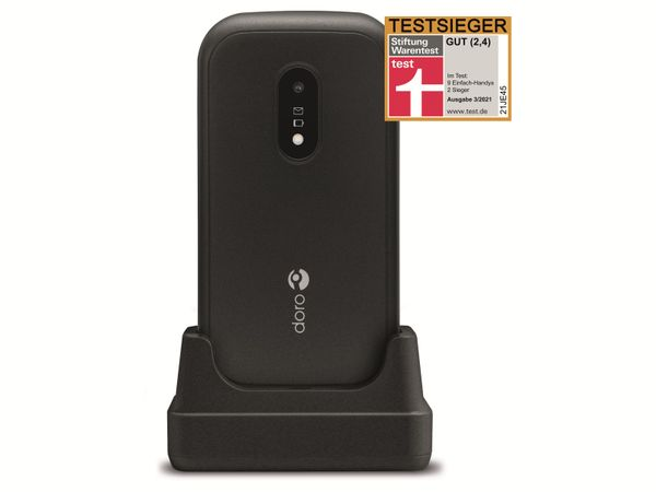 Handy DORO 6040, schwarz - Produktbild 10