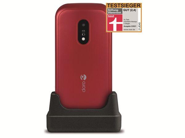 Handy DORO 6040, rot/weiß - Produktbild 2