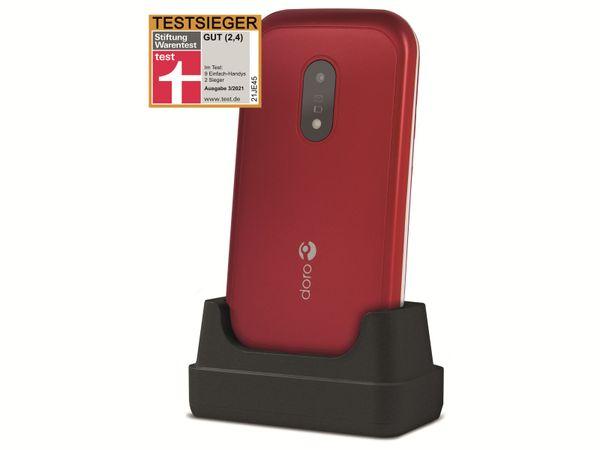 Handy DORO 6040, rot/weiß - Produktbild 3
