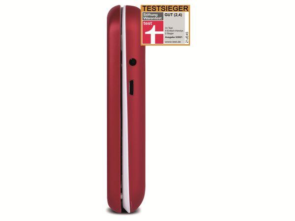 Handy DORO 6040, rot/weiß - Produktbild 4