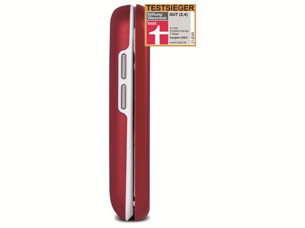 Handy DORO 6040, rot/weiß - Produktbild 5