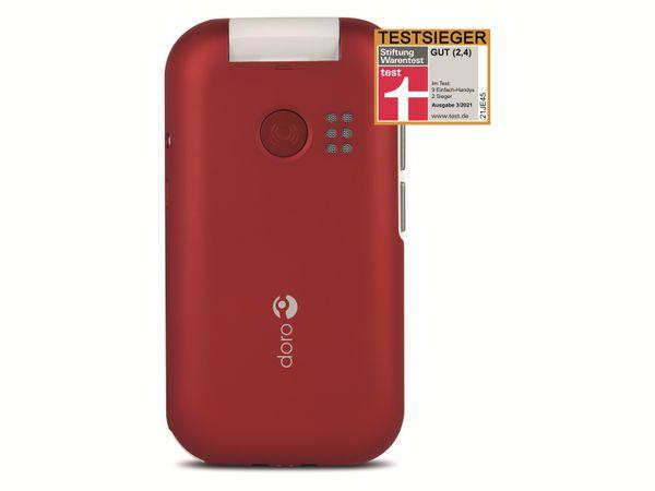 Handy DORO 6040, rot/weiß - Produktbild 6