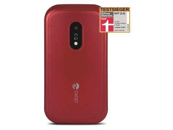 Handy DORO 6040, rot/weiß - Produktbild 7