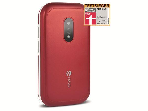 Handy DORO 6040, rot/weiß - Produktbild 8