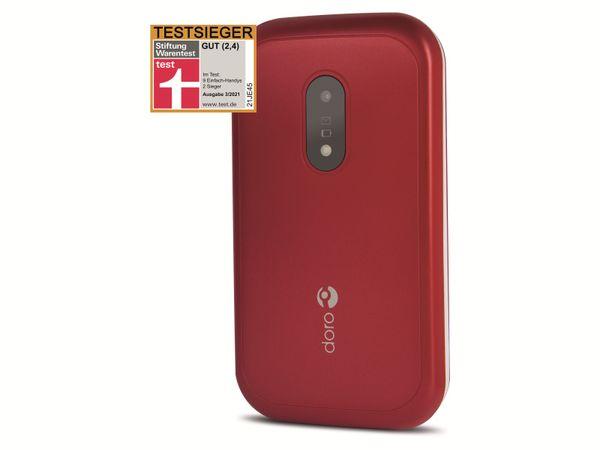 Handy DORO 6040, rot/weiß - Produktbild 9