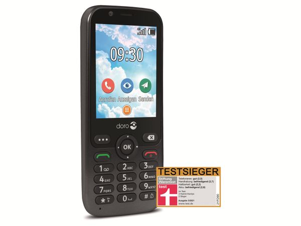 Handy DORO 7010, schwarz - Produktbild 2
