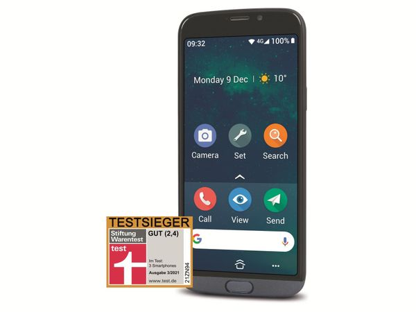 Smartphone DORO 8050, grau - Produktbild 2