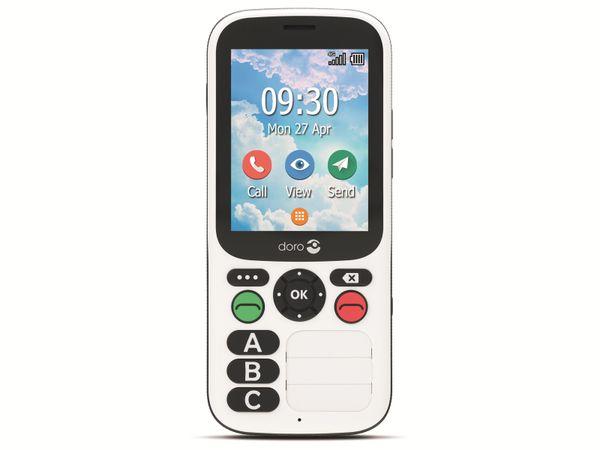 Handy DORO 780X, schwarz/weiß