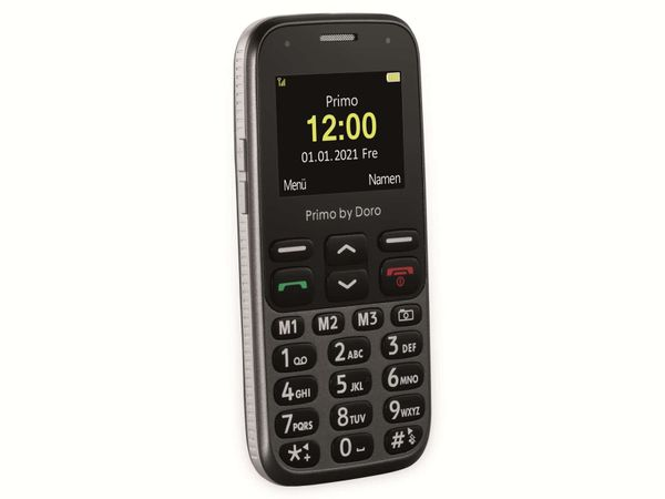 Handy DORO Primo 218, schwarz