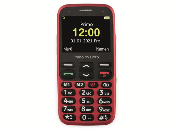 Handy DORO Primo 368, rot - Produktbild 3