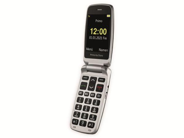 Handy DORO Primo 408, schwarz/silber - Produktbild 3
