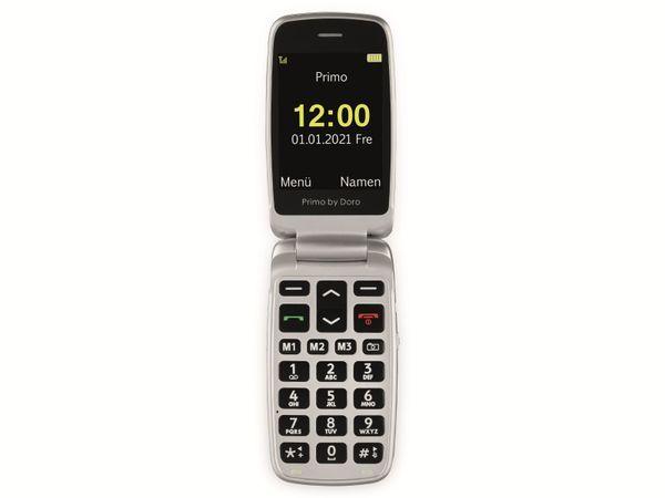 Handy DORO Primo 408, schwarz/silber - Produktbild 4