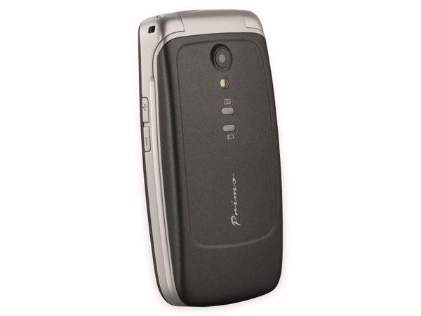 Handy DORO Primo 408, schwarz/silber - Produktbild 5