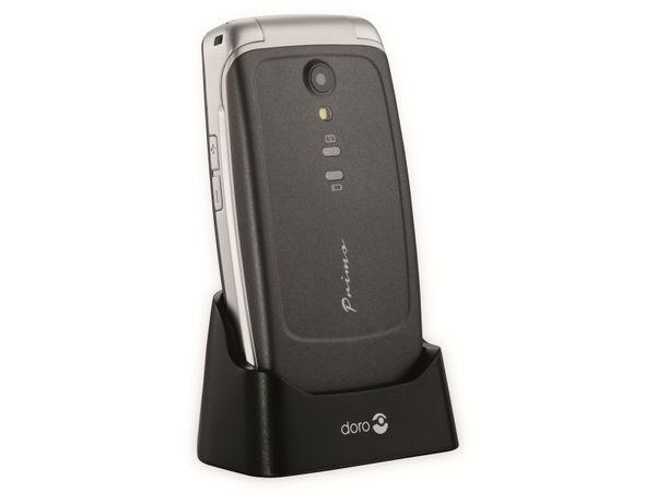 Handy DORO Primo 408, schwarz/silber - Produktbild 8
