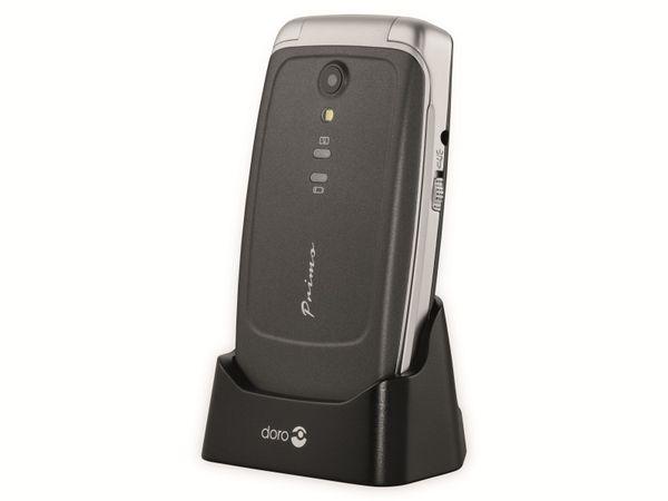 Handy DORO Primo 408, schwarz/silber - Produktbild 9