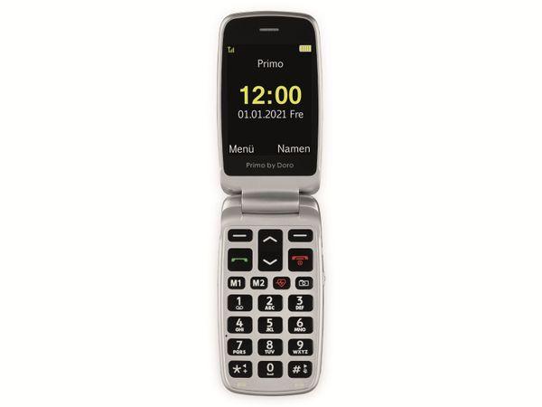 Handy DORO Primo 418, schwarz/silber - Produktbild 4