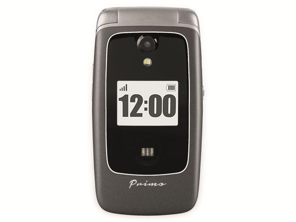 Handy DORO Primo 418, schwarz/silber - Produktbild 7