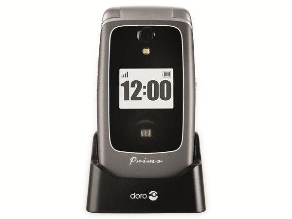 Handy DORO Primo 418, schwarz/silber - Produktbild 10