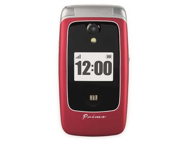 Handy DORO Primo 418, rot - Produktbild 3