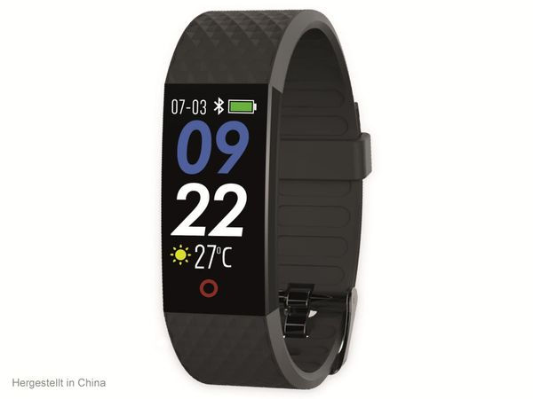 Fitness-Armband SWISSTONE SW 320 HR, schwarz