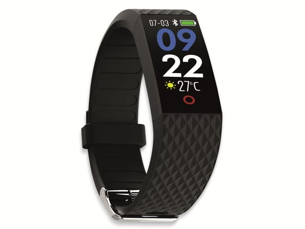 Fitness-Armband SWISSTONE SW 320 HR, schwarz - Produktbild 3