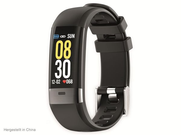 Fitness-Armband SWISSTONE SW 620 ECG, schwarz